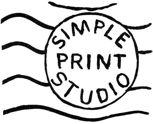 simple stamp logo