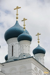 02. Paschal Prayer Service in Svyatogorsk / Пасхальный молебен в соборном храме г. Святогорска