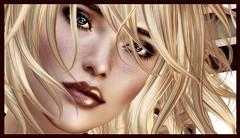 sad face (uniqu3fashion) Tags: life broken face angel hair eyes sad mesh skin head song sl secondlife short arash second yssy applier argrace lelutka wowskin