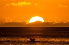 Waikiki Sunset (kotrp) Tags: orange waikiki waikikisunset waikikisurfing