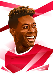 Alaba (Fresco Umbiatore) Tags: portrait art illustration bayern austria football soccer munchen vector alaba