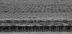 Waiting For An Audience (Catskills Photography) Tags: blackandwhite washingtondc audience chairs hbm hss canong15