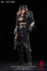 VERYCOOL TOYS VCF-2029 Black Female Shooter - 14 (Lord Dragon ) Tags: hot female toys actionfigure doll angelinajolie verycool onesixthscale 16scale 12inscale