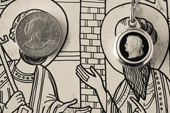 For Macro Monday//Smaller Than a Coin (laura_rivera) Tags: macro coin sony 55mm dollar cameo vivitar a7 susanbanthony lensadapter fotodiox macromonday laurarivera smallerthanacoin
