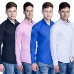 Combo of 4 Aligatorr Slim Shirt For Men @ Rs.999 @ Jeanie.in (injeanie) Tags: coupon codes