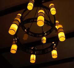 Chandelier (Flossyuk) Tags: lights bulb atmosphere ambience abstract