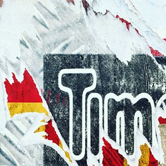 Tim (vapour trail) Tags: poster advertisment paper torn graphics artwork london tube station tower hill underground travel transport hub