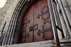 Church (c.life.farrther) Tags: door wood detail church dark rust iron cast gloom