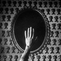 Black Mirror (Morelia, Michoacn, Mxico. Gustavo Thomas  2016) (Gustavo Thomas) Tags: black church mxico mexico mirror noir morelia hand main negro iglesia surreal espejo mano michoacn miroir eglise surrealista