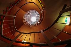 Fire spiral (Elbmaedchen) Tags: stairs hamburg staircase roundandround treppenauge