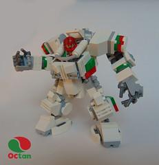 whitemech (legolover22) Tags: lego mech hardsuit octan