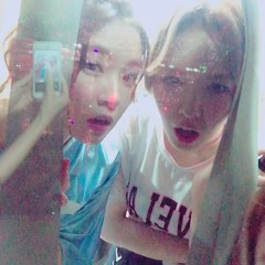 [Official IG] 160604 Dream Concert 2016 - Irene and Wendy (redvelvetgallery) Tags: instagram officialinstagram selca wendy wendyselca ireneselca irene