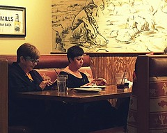 Ladies who lunch with smartphones in hand... (Renee Rendler-Kaplan) Tags: ladies people 3 booth table restaurant glasses three women sitting july indoors sit inside plates suburb seated beverages iphone northbrookcourt chicagoist 2016 smartphones chicagoreader northbrookillinois ladieswholunch noconversation iphoneography reneerendlerkaplan theclaimcompany withsmartphonesinhand yesiwaitedtildonaldhadleftthetabletopickmineup