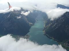 Wieder der Achensee (Roland Henz) Tags: fliegen segelfliegen segelflug unterwssen dassu 2016 16062016 achensee wolken luftbild luftaufnahme