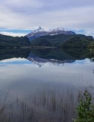 Lago Lonconao, Region Los Lagos, Chile (Arturo_Jose) Tags: chile patagonia lake landscape lago agua paisaje olympus reflejo montaas