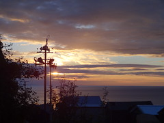 Sunset 1 (Saf37y) Tags: sunset sea silhouette clouds coast scotland seashore gardenstown gamriebay