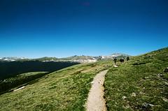 Rocky Mountain National Park on Film (seansdi77) Tags: 35mm colorado hiking moose grandlake estespark wheelbar