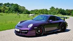 Porsche 911 Turbo TechArt GT Street R (mwalenczewski) Tags: 911 turbo porsche tuning 911turbo techart gtstreet gtstreetr purpleporsche