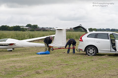 To out time.. (Air Frame Photography) Tags: uk england flying aircraft airplanes competition gliding glider gliders ls oxfordshire dg shenington bga regionals avgeek realflying