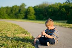 Boy Wonder (tnash_images) Tags: road sunset shadow digital photography kid nikon flickr child image brother mason picture thumb hitchhiker runaway goldenhour d3300