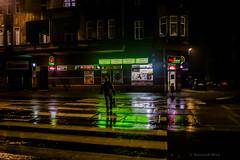 Zabrze (nightmareck) Tags: rain night europa europe fuji poland polska handheld fujifilm fujinon deszcz zabrze silesia pancakelens xe1 apsc mirrorless lskie grnylsk xtrans fotografianocna xmount xf18mm xf18mmf20r bezlusterkowiec