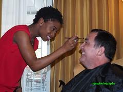 HeForShe Make Ready (Halcon122) Tags: heforshe campaign makeup artist canadian highcommissioner sylvainfabi video color olympusem5markii
