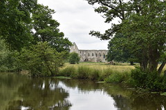 Newark Priory (Dick Dangerous) Tags: uk britain england surrey newark priory ruins river wey