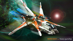 merkabah space 2 (Brick Martil) Tags: toy lego gunship starfighter space ucs moc