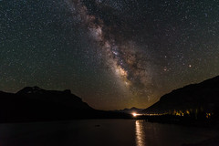 Milky Way Over Tioga Lake (m e a n d e r i n g s) Tags: tiogalake milkyway yosemite national park starscape nightphotography inyonationalforest glaciallake monocounty