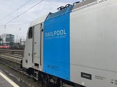 Two days in a row... (daveymills31294) Tags: meridian traxx 286 186 railpool