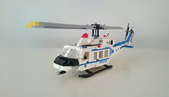 AB-212 (Luka R) Tags: lego police helicopter slovenian agusta bell ab212 sar hems hnmp lpe twin two twelve airunit