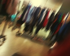 Blur Blurred Motion Blurred Clothes Rack (sobieniak) Tags: blur blurredmotion blurred clothes rack