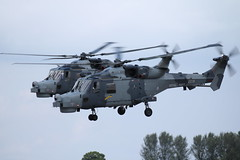 ZZ381 HMA2 Fairford. (David Cook.) Tags: helicopter royalnavy militaryaviation 825nas royalnavyaviation