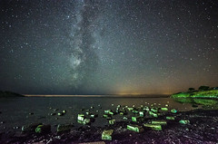 (Glen Parry Photography) Tags: night nikon nightphotography glenparryphotography milkyway longexposure stars sea seascape landscape nightsky d7000 sigma dorset