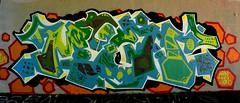 graffiti amsterdam (wojofoto) Tags: amsterdam graffiti streetart wojofoto wolfgangjosten nederland netherland holland amsterdamsebrug hof flevopark moen