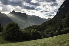 Tirolean Alps - Acherkogel (Bernhard Poscher) Tags: tirol alps acherkogel piburg nature light ray mountains valley sunset