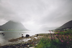 Aldra (dataichi) Tags: ocean coast shore mountains fjord clouds cloudy nordland norway landscape nature outdoors travel tourism destination