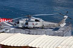 Japan - Maritime Self Defence Force (JMSDF)  Mitsubishi SH-60J - 8282 - on board JMSDF ASAGIRI DD 151 - Grand Harbour Valletta (Melvin Debono) Tags: japan maritime self defence force jmsdf mitsubishi sh60j 8282 board asagiri dd 151 grand harbour valletta