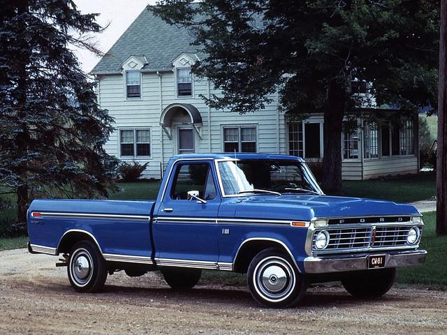 ford ranger pickup f100 1973 xlt