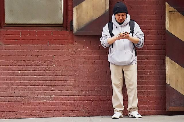 newyork manhattan cellphone smartphone streetsofnewyork