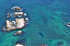 Bahía Inglesa desde el aire (jmalfarock) Tags: chile sea beach nikon pacificocean caldera atacama atacamadesert atacamachile bahíainglesa d5100