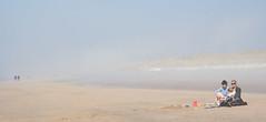 Sea fog at the beach (ZaaziPix) Tags: beach dutch fog spring time northsea castricum noordholland rokjesdag zeevlam zaazipix zaazi