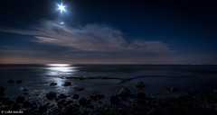 Indented Heads (luke.garde) Tags: longexposure moon night australia wideangle lunar indentedheads