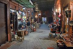 Medina of Marrakesh (JohntheFinn) Tags: africa unescoworldheritagesite morocco maroc marrakech souk medina marrakesh marokko afrique highatlas afrikka