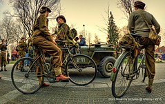 Paterswoldseweg,Re-enacment of Liberation Groningen stad 1945 ,the Netherlands,Europe (Aheroy(2Busy)) Tags: actors wwii bicycles ww2 groningen 1945 fietsen ww11 groningenstad reenacment paterswoldseweg aheroy aheroyal bevrijdinggroningennl liberationofgroningen bevrijdinggroningen70nl