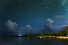 Guraidhoo At Night (photographyiru) Tags: sea sky holiday beautiful landscape photography top maldives guraidhoo kaafu kguraidhoo