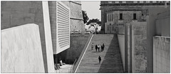 Malta; Valletta (drasphotography) Tags: bw white black monochrome sepia architecture monotone malta architektur and sw valletta schwarzweis d7k nikond7000 drasphotography