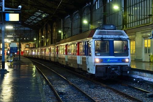 SNCF Z 6549 / 6550 te Paris Saint-Lazare