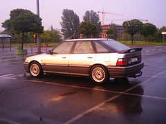 0156_kerf (GekusR) Tags: white car gold si wheels poland rover springs lip british gti sei cracow lowered wannabe spoiler slammed 216 newpaint 214 k16 sportseats jamex dailydriven 14k4f 16k4f 18k4f