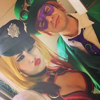 Harley Quinn and Riddler